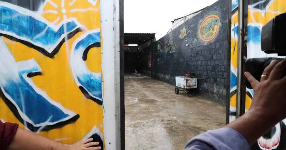 27.jan.2018 - Disputa entre facções em Fortaleza termina em chacina em uma casa de shows na madrugada deste sábado