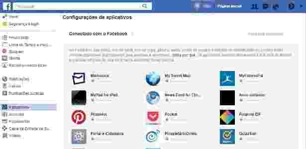 Apps fb - Reprodução - Reprodução