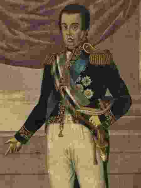 Dom João 6º como rei do Reino Unido de Portugal, Brasil e Algarves: monarcas eram vistos como líderes escolhidos por Deus - Biblioteca Nacional/BBC