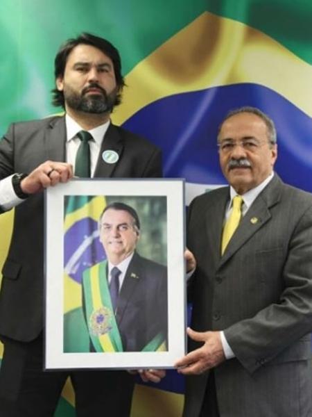 Chico Rodrigues e Léo Índio, sobrinho do presidente: uma mão lava a outra - Reprodução/instagram