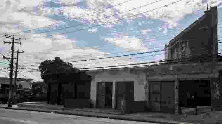 Obras para a criação do Centro Social Jerominho, que será localizado na zona oeste do Rio de Janeiro - Bruna Prado/UOL - Bruna Prado/UOL