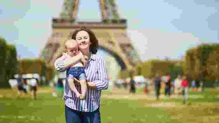 A França é conhecida por suas políticas estáveis de estímulo à natalidade. - Getty Images - Getty Images