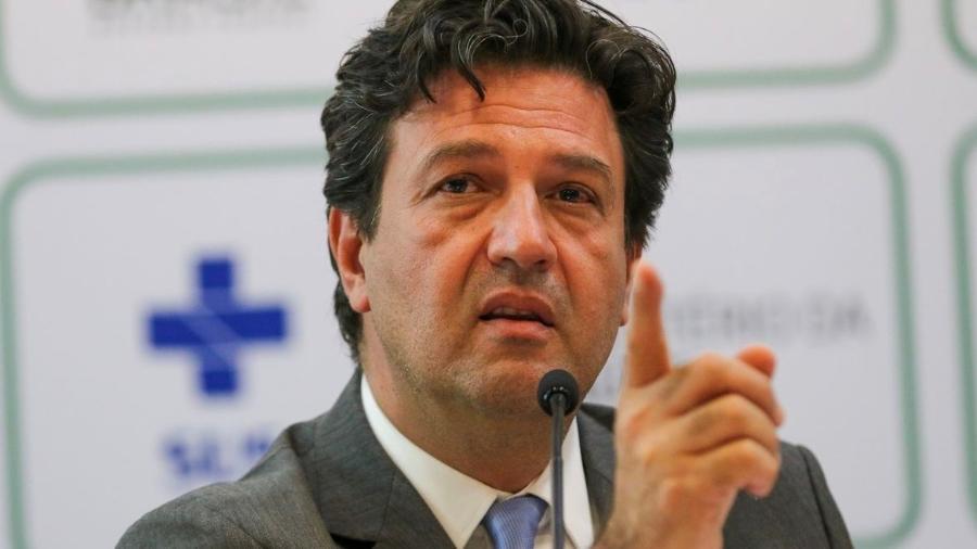 O ministro da Saúde, Luiz Henrique Mandetta - Fabio Rodrigues Pozzebom/Agência Brasil