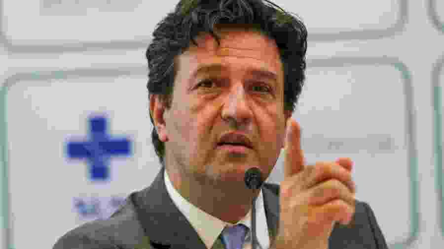 O ministro da Saúde do governo Bolsonaro, Luiz Henrique Mandetta - Fabio Rodrigues Pozzebom/Agência Brasil