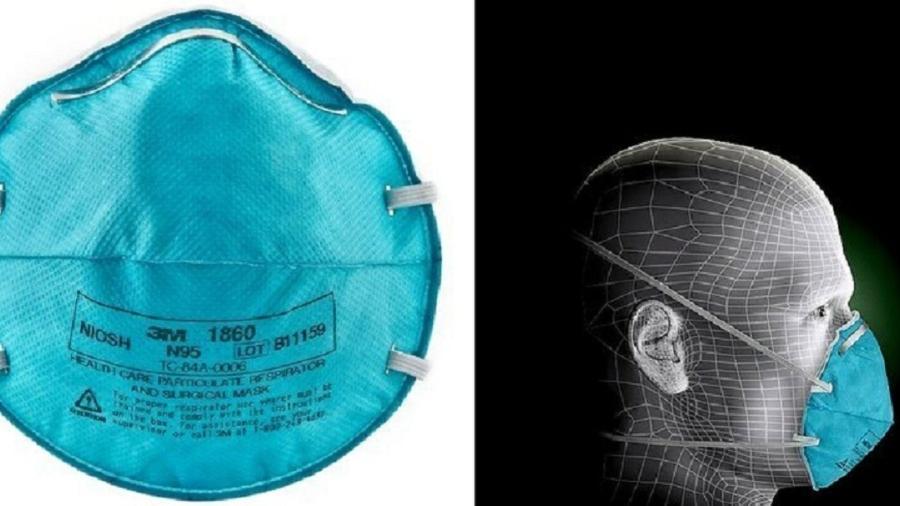 Venda de máscaras impulsionou lucro da empresa em 2020 - Divulgação/ 3M