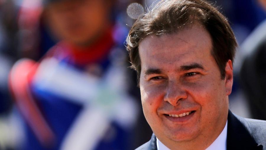 O presidente da Câmara, Rodrigo Maia (DEM-RJ) - ADRIANO MACHADO