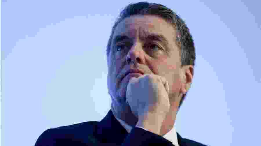 Roberto Azevêdo anunciou que deixará cargo em 31 de agosto, um ano antes do previsto - AFP