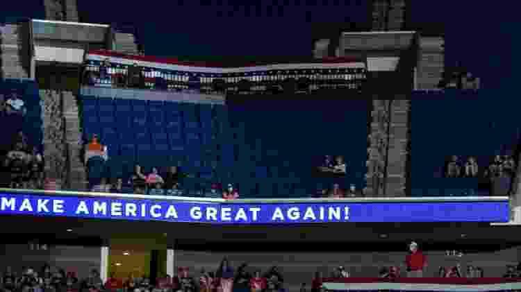 Comício de Donald Trump - NICHOLAS KAMM / AFP - NICHOLAS KAMM / AFP