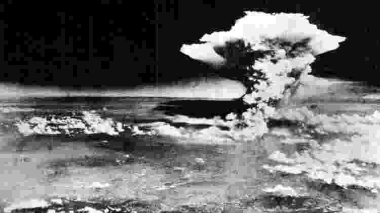A bomba de Hiroshima estava carregada com 64 kg de urânio enriquecido - Getty Images - Getty Images
