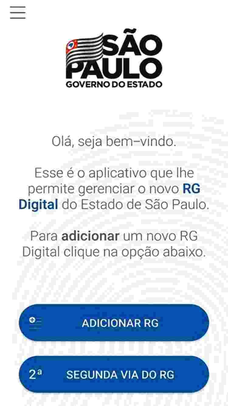 Saiba como cadastrar e como usar o RG digital 1 - Reprodução - Reprodução