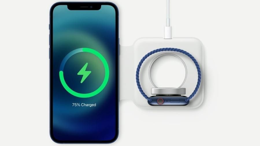 Carregador MagSafe do iPhone 12 - Divulgação/Apple