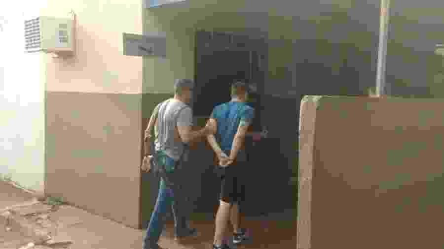 Eduardo Blanc, 21 anos, utilizava menores de idade por causa de menores punições - Polícia Civil do RJ/Divulgação