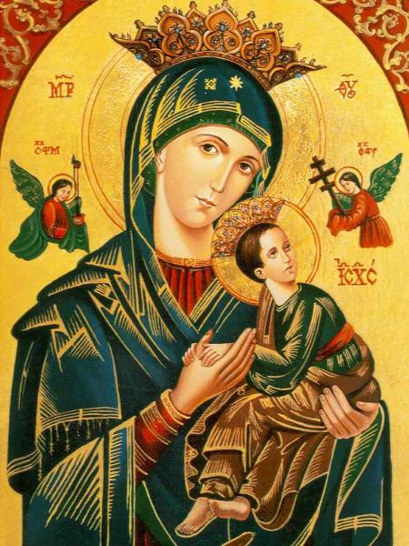 Imagem de Nossa Senhora do Perpétuo Socorro - Reprodução