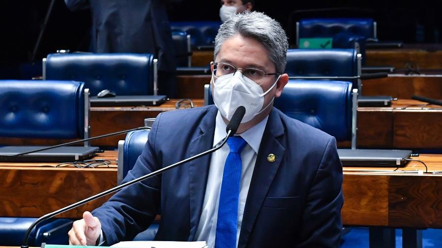 Senador Alessandro Vieira (Cidadania-SE) foi internado para tratamento de covid-19 - Waldemir Barreto/Agência Senado