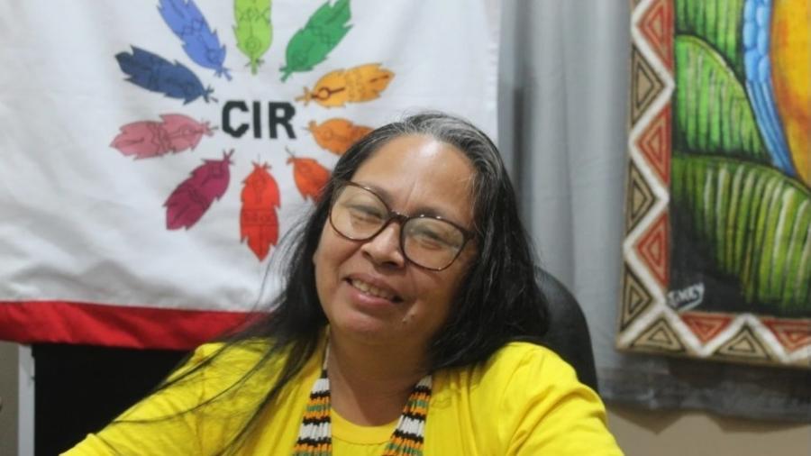Sinéia do Vale, coordenadora do departamento ambiental do Conselho Indígena de Roraima -  Divulgação/Conselho Indígena de Roraima