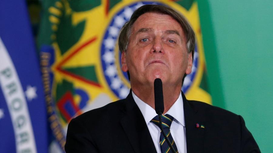 """O presidente Jair Bolsonaro (sem partido), disse que não vai se envolver """"na polêmica"""" do caso de Joice Hasselmann - Adriano Machado/Reuters"""