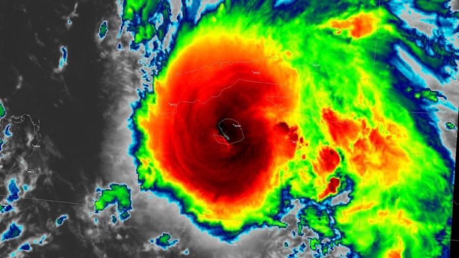 O furacão Ida deve atingir os EUA no domingo - National Weather Service