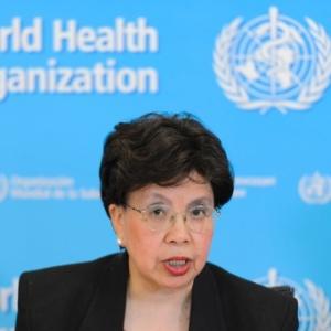 A diretora-geral da Organização Mundial da Saúde, Margaret Chan, participa de coletiva de imprensa sobre a epidemia do vírus da zika - Fabrice Coffrini/ AFP