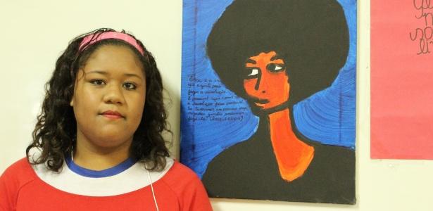 Vanessa Lisboa contou a história de Angela Davis, defensora dos direitos dos negros - Pilar Acosta