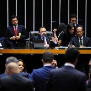 Presidente interino da Câmara, Waldir Maranhão