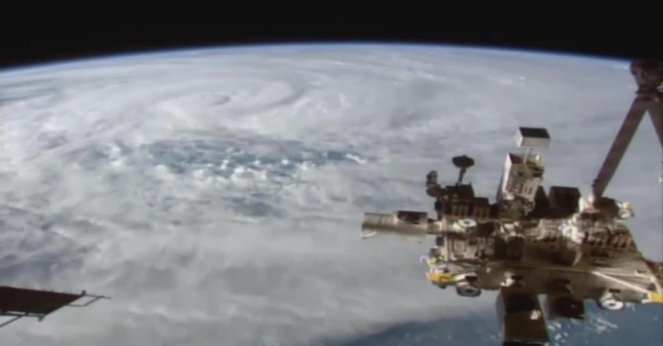 Estação Espacial registra megaciclone sobre Austrália visto do espaço