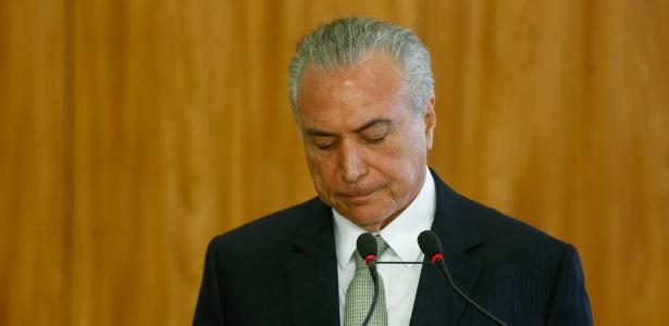 A dono da JBS, Temer disse duvidar de cassação pelo TSE - Pedro Ladeira/Folhapress