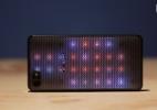 Voltado para jovens, Alcatel A5 LED pisca e abre apps com impressão digital (Foto: UOL)