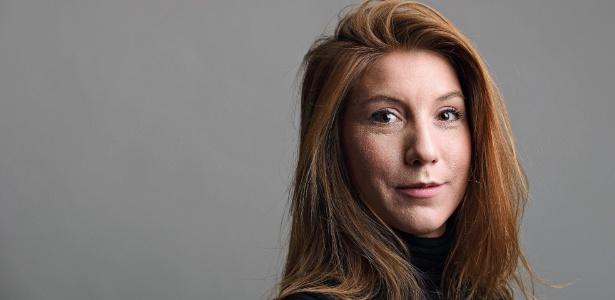 A jornalista sueca Kim Wall desapareceu em 10 de agosto a bordo de um submarino enquanto trabalhava