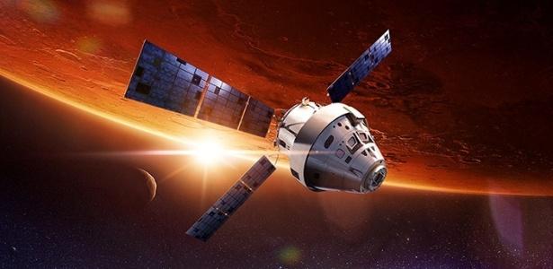 A Nasa está cada vez mais perto de concluir sua espaçonave mais ambiciosa: a Orion