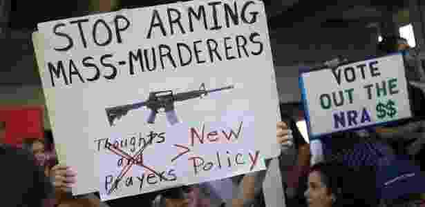 armas controle protesto - Joe Raedle/Getty Images/AFP - Joe Raedle/Getty Images/AFP
