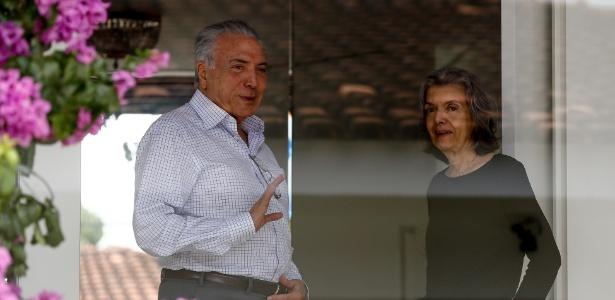 O presidente Michel Temer se encontrou com a presidente do STF, ministra Cármen Lucia, neste sábado (10)