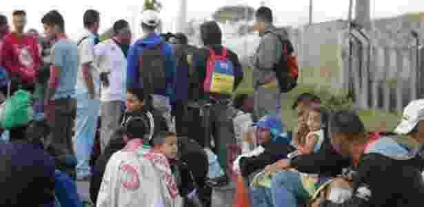 Autoridades internacionais querem que países de fora da América do Sul se apresentem como possíveis locais para realocar os refugiados venezuelanos - NILTON FUKUDA/ESTADÃO CONTEÚDO - NILTON FUKUDA/ESTADÃO CONTEÚDO