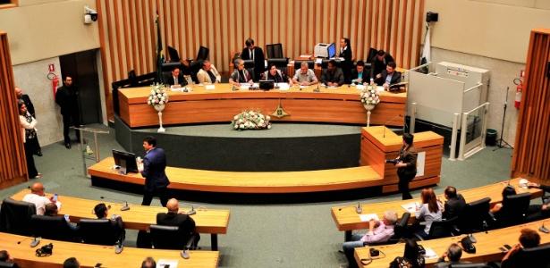 Sessão solene na Câmara Legislativa do Distrito Federal no dia 26 de junho
