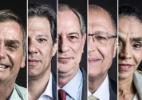 Ibope: Bolsonaro empata com Haddad e perde para Ciro em eventual 2º turno (Foto: Arte/UOL)
