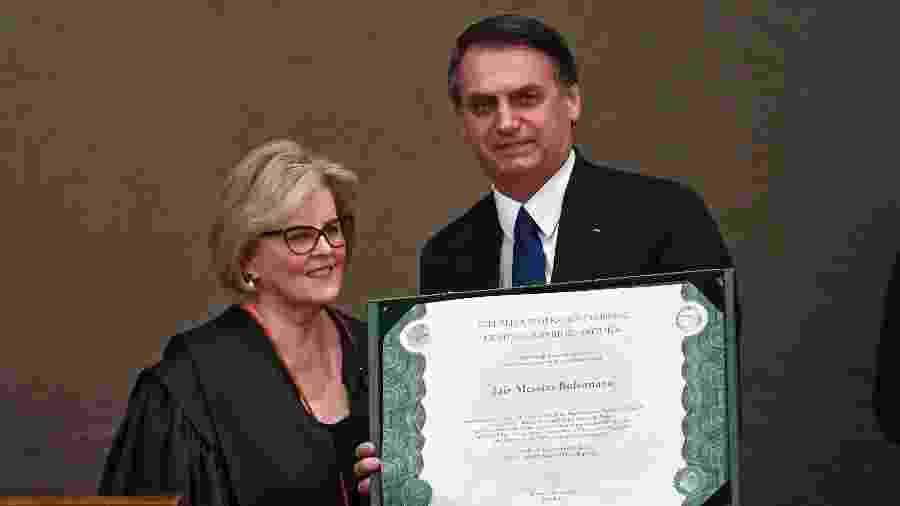10.dez.2018 - O presidente eleito Jair Bolsonaro (PSL) é diplomado pela Justiça Eleitoral - Evaristo Sá/AFP