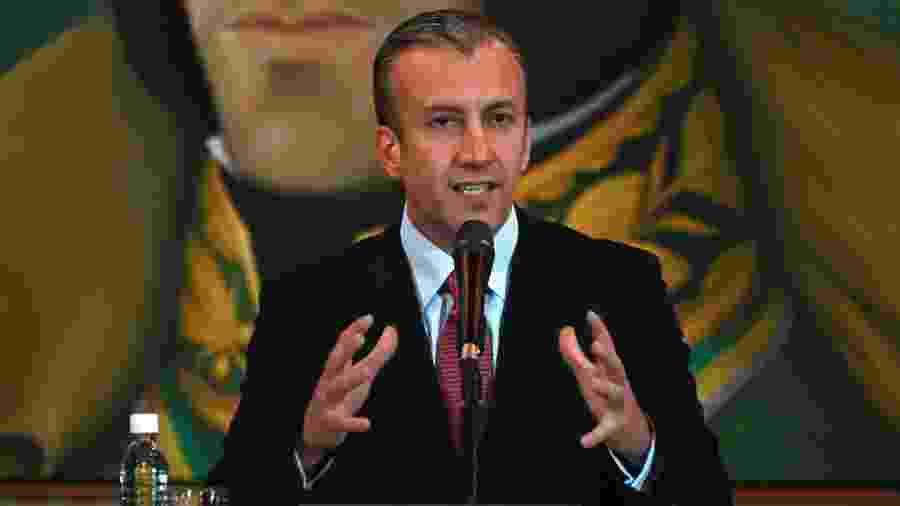 10.mai.2019 - o ministro e ex-vice-presidente venezuelano Tareck El Aissami - Marvin Recinos/AFP