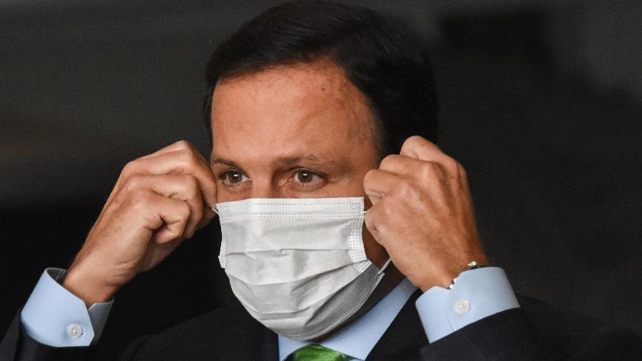Anúncio foi feito no mesmo dia em que duas regiões de São Paulo regrediram nos planos de flexibilização por causa do avanço da pandemia - ROBERTO CASIMIRO/FOTOARENA/FOTOARENA/ESTADÃO CONTEÚDO