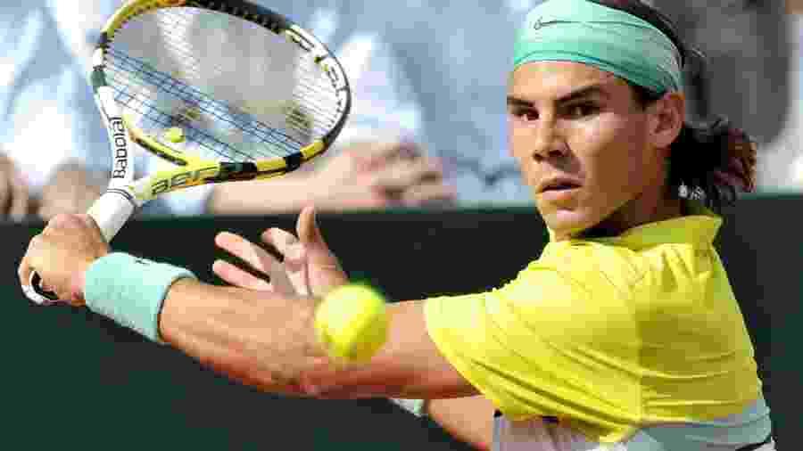 O tenista espanhol Rafael Nadal fez o anúncio nas redes sociais - ALESSANDRO BIANCHI