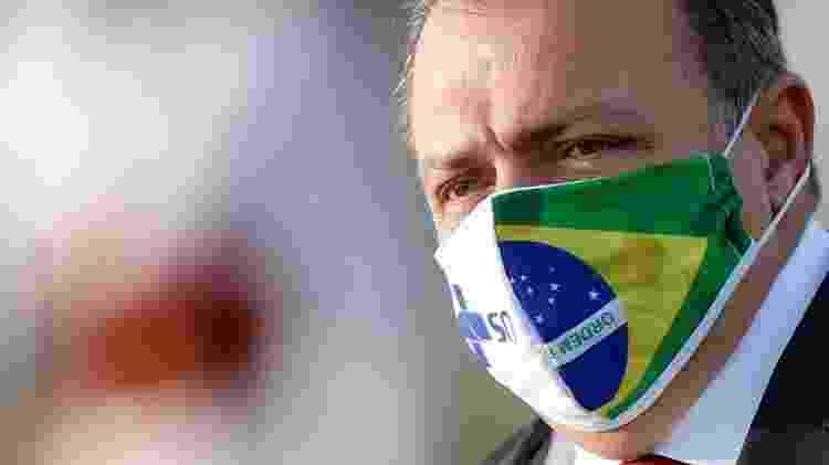 O general Eduardo Pazuello é o 3º ministro da Saúde do governo Bolsonaro - Reprodução - Reprodução