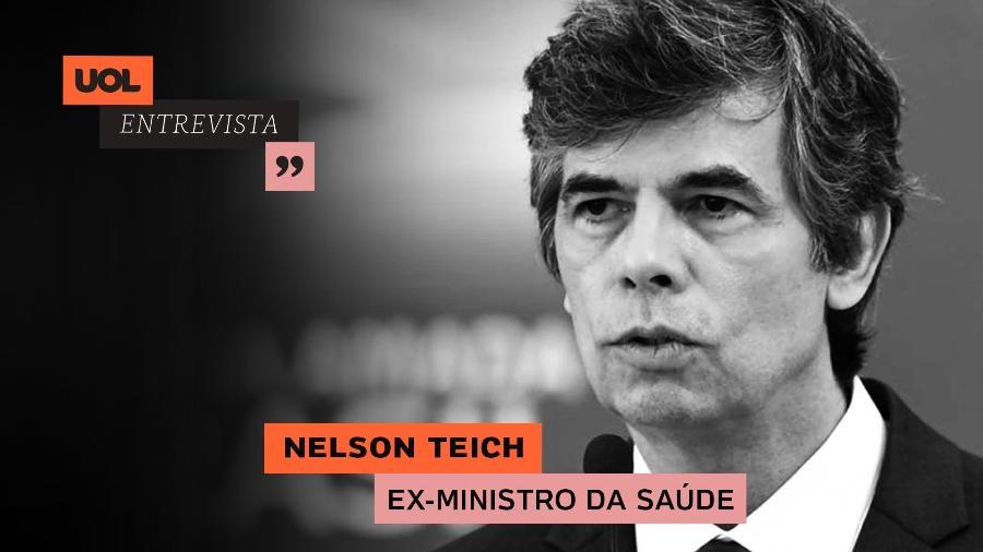 UOL Entrevista com Nelson Teich (22/06/20) - Arte/UOL