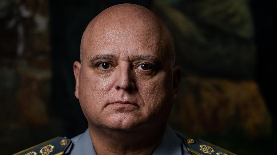 Coronel Marcelino Fernandes, ex-corregedor da Polícia Militar de São Paulo - 17.mai.2018 - Eduardo Anizelli/Folhapress