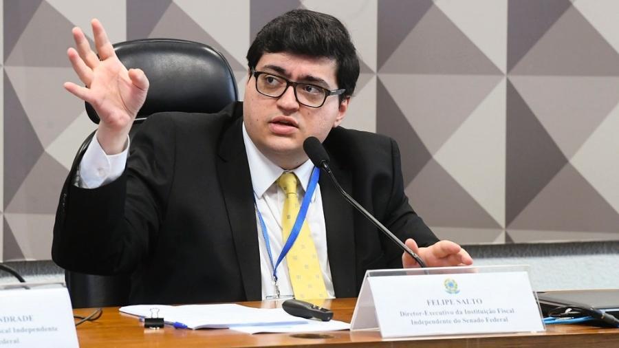 """Salto: """"É uma estratégia para conter a sanha por aumento de gastos, que certamente aparecerá, como aconteceu com o Orçamento de 2021"""" - Marcos Oliveira/Agência Senado"""