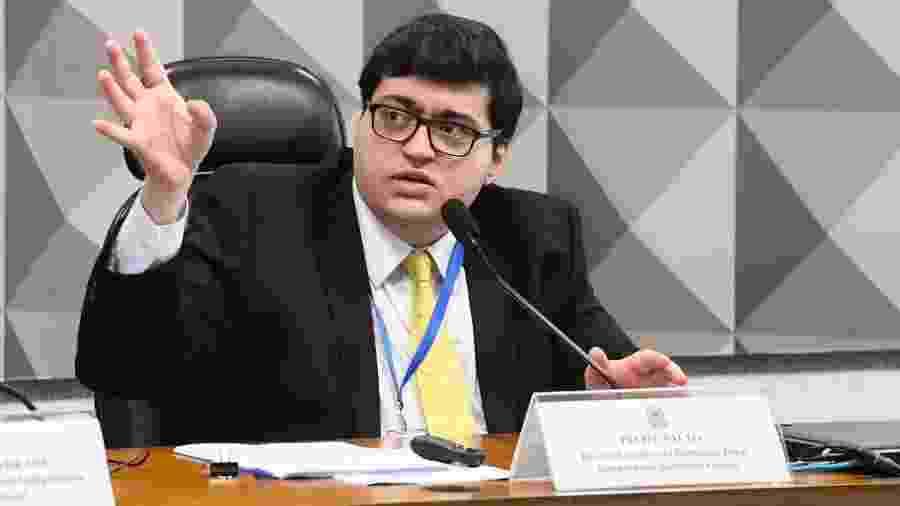Para Felipe Salto, Brasil precisa discutir a implantação de uma eventual renda básica permanente no cenário pós-pandemia - Marcos Oliveira/Agência Senado