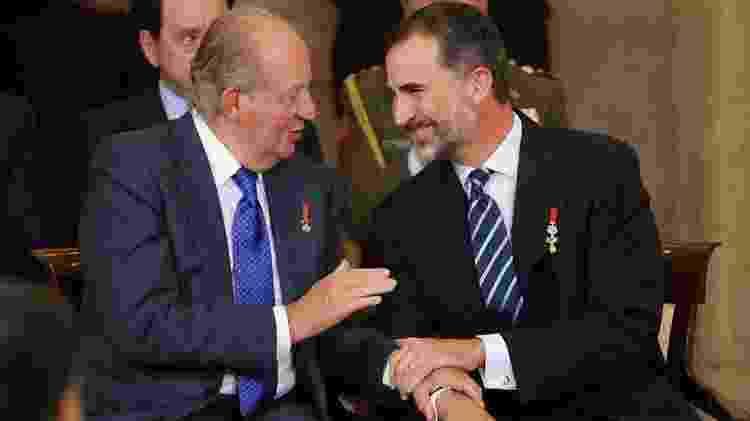Felipe 6º tenta se distanciar dos escândalos que envolvem seu pai - Getty Images - Getty Images