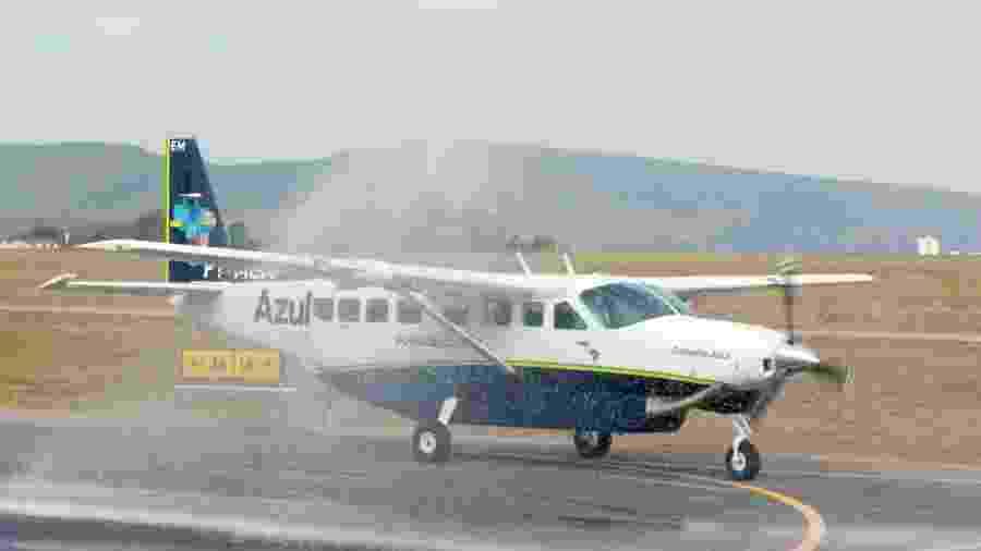 A Azul Conecta realiza a maioria dos voos mais curtos do país - Divulgação/Azul