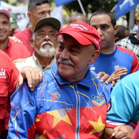 Darío Vivas morreu hoje aos 70 anos, quase um mês após ser diagnosticado com covid-19 - AFP