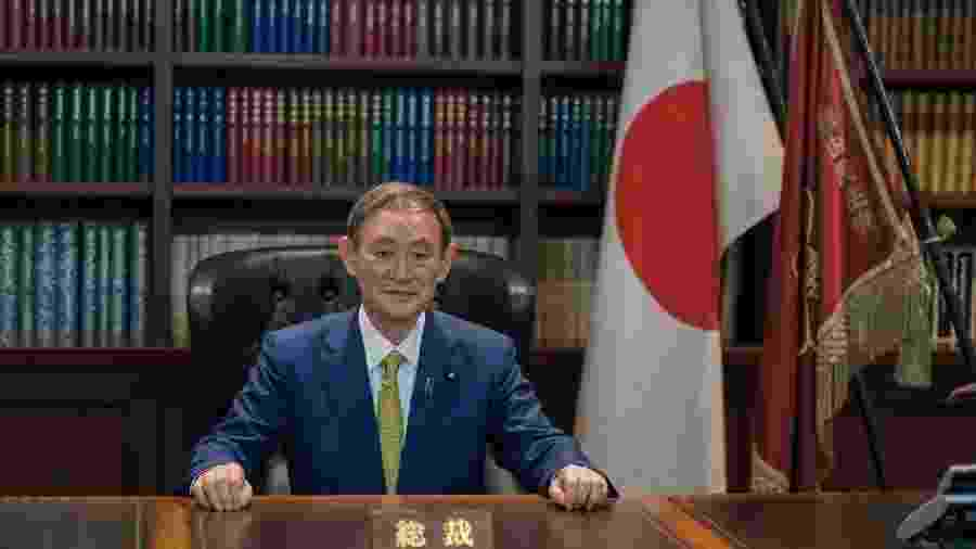 Chefe de gabinete do Japão foi confirmado para o cargo - Nicolas Datiche/Pool via REUTERS