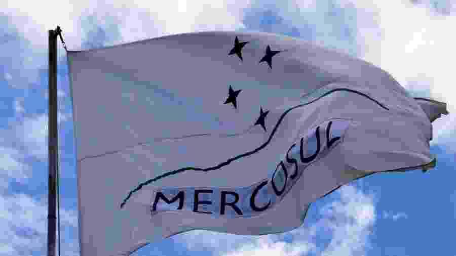 Bandeira do Mercosul - Getty Images/iStockphoto