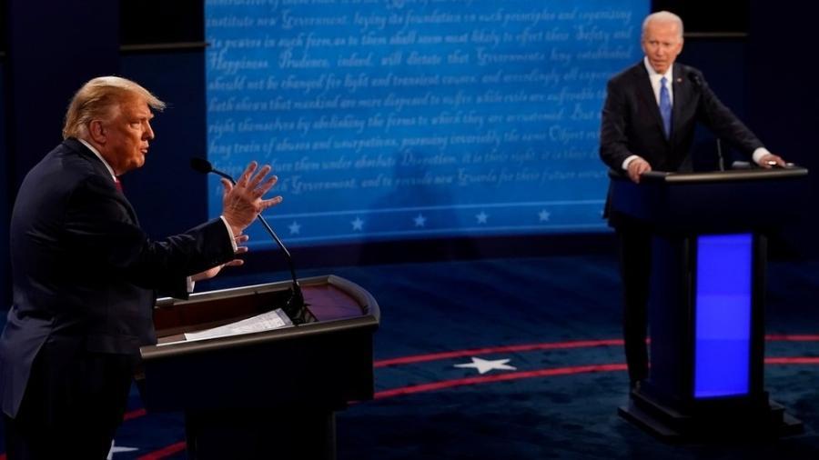 A transferência de Trump para Joe Biden promete ser conturbada nos próximos meses - Reuters