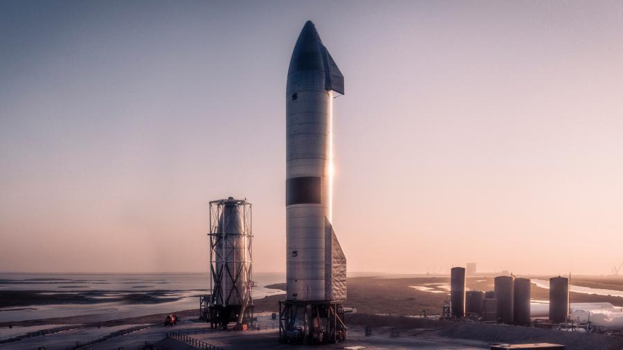 Lançamento de foguete Starship da SpaceX - SpaceX/Divulgação